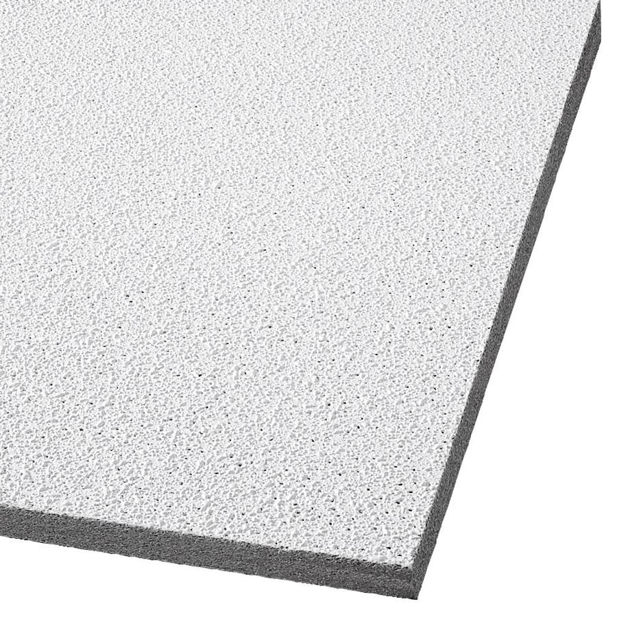 Armstrong Georgian 6-Pack White Textured 15/16-in Drop Acoustic Panel Ceiling Tiles (Common: 30-in x 60-in; Actual: 59.719-in x 23.719-in)