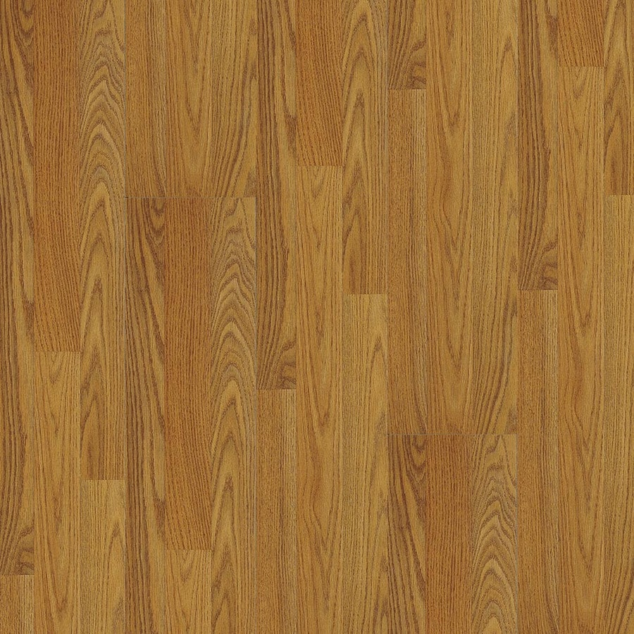 Armstrong Classics & Origins 7-3/8-in W x 50-5/8-in L Jefferson Red Oak Butterscotch Laminate Flooring
