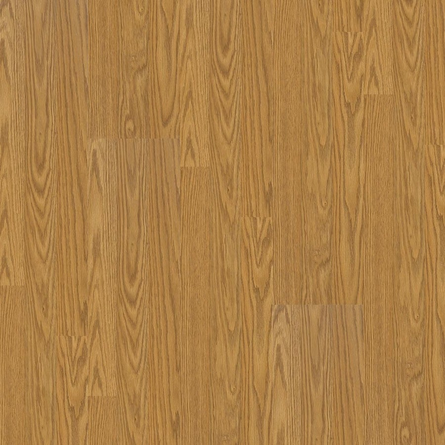 Armstrong Cumberland II 7.6-in W x 4.52-ft L Natural Oak Smooth Laminate Wood Planks