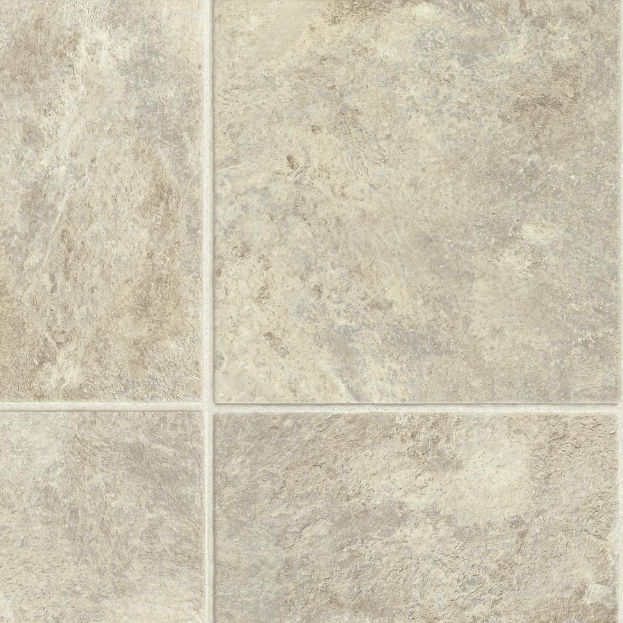Armstrong Stones and Ceramics 11.81-in W x 3.98-ft L Stone Creek Glace Embossed Laminate Tile and Stone Planks
