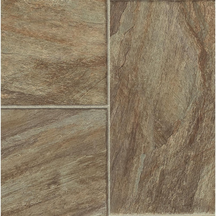 Armstrong Stones and Ceramics 15.94-in W x 3.98-ft L Carmona Stone Rio Verde Embossed Laminate Tile and Stone Planks