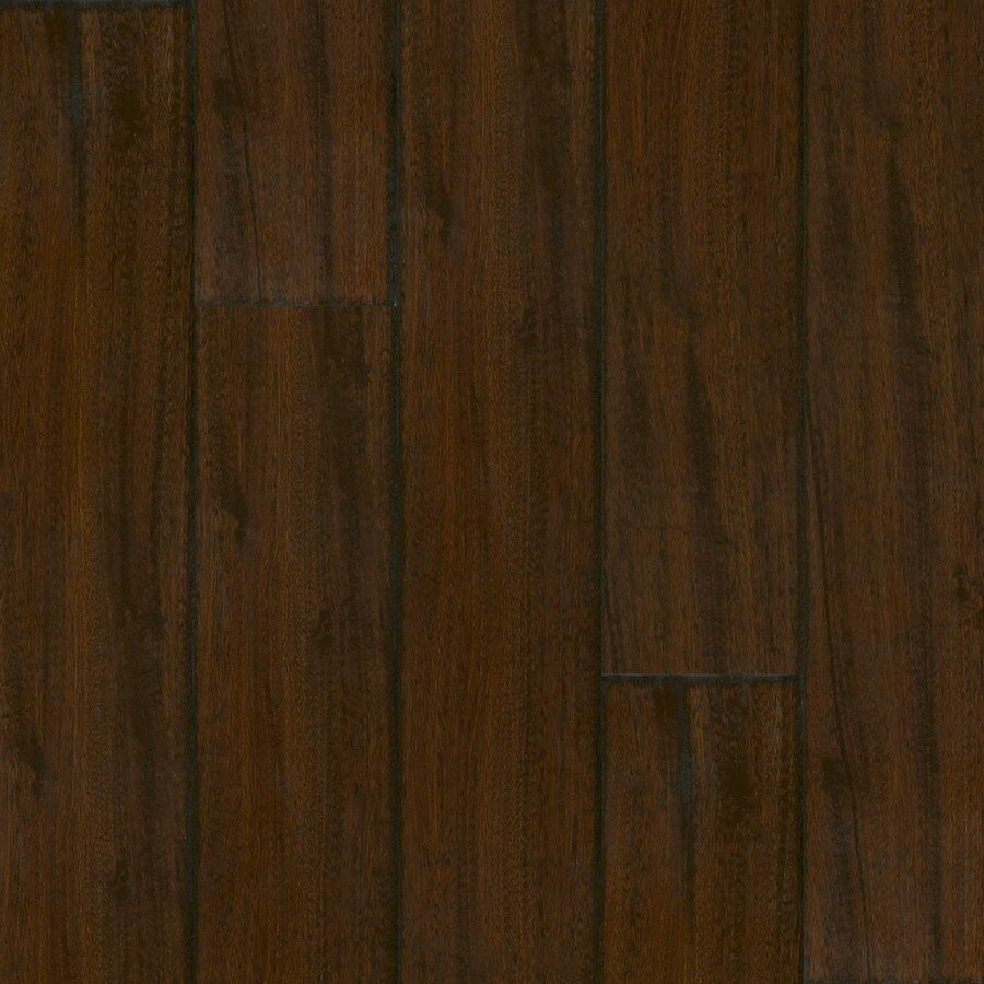 Armstrong Reserve Premium 7.64-in W x 7.41-ft L Wrought Iron Handscraped Laminate Wood Planks