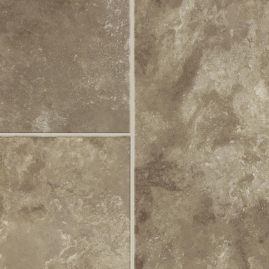 Armstrong Stones and Ceramics 15.94-in W x 3.98-ft L Tawny Beige Embossed Laminate Tile and Stone Planks