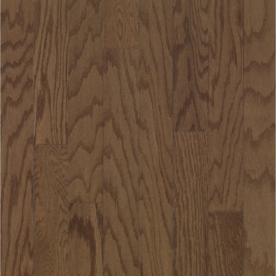 Bruce Locking Smooth Face Saddle Oak Hardwood Flooring (22-sq ft)