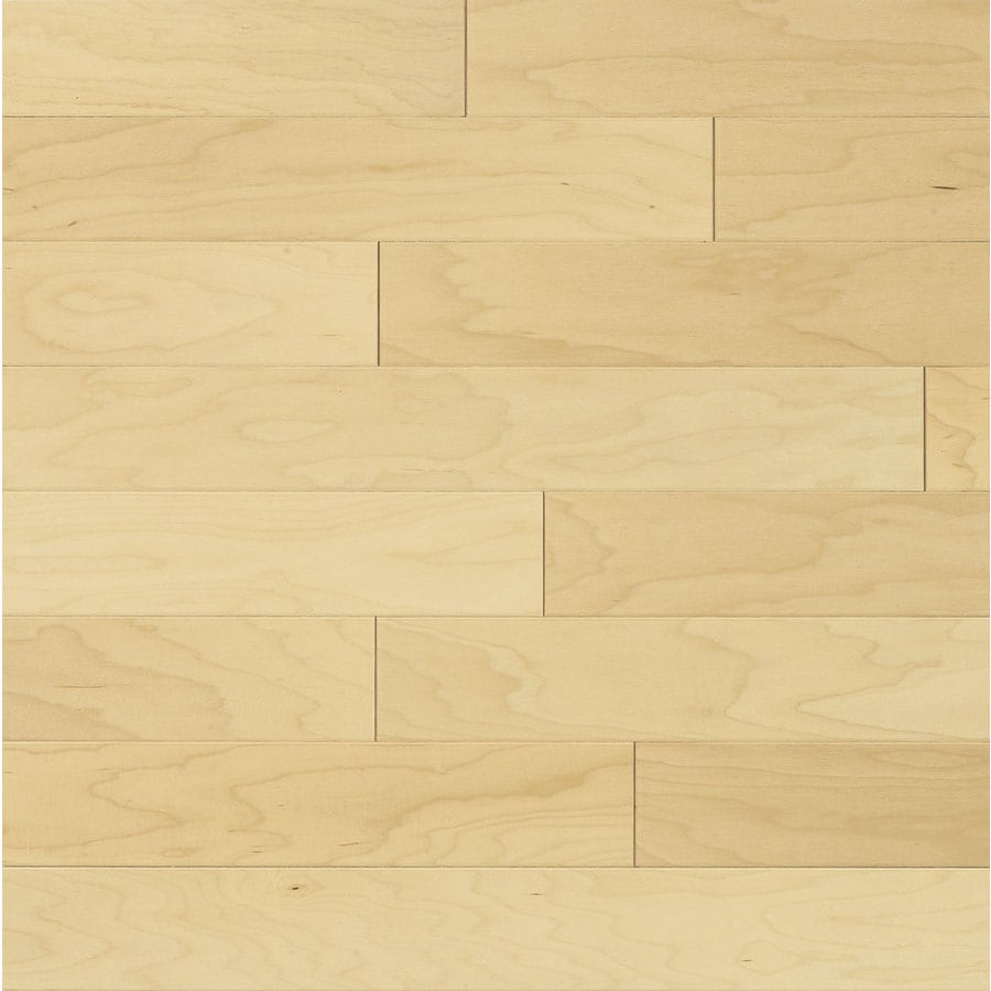 Shop bruce locking smooth face natural maple hardwood for Maple hardwood flooring
