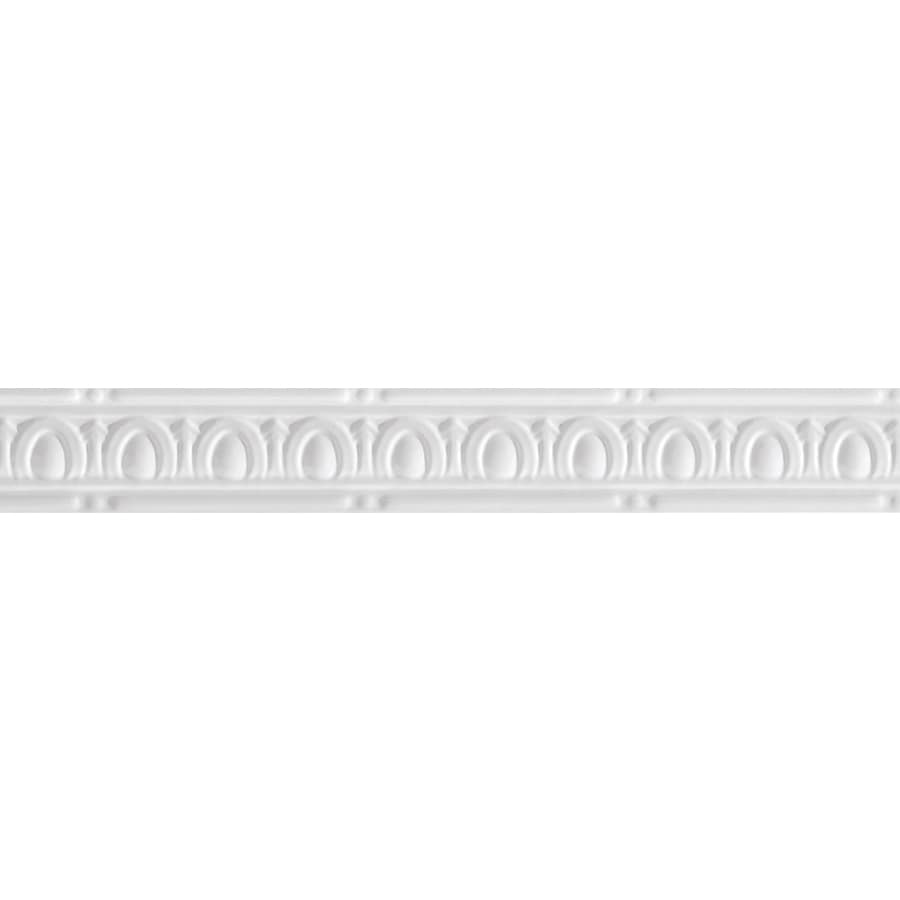 Armstrong Metallaire White Metal Crown Ceiling Grid Trim