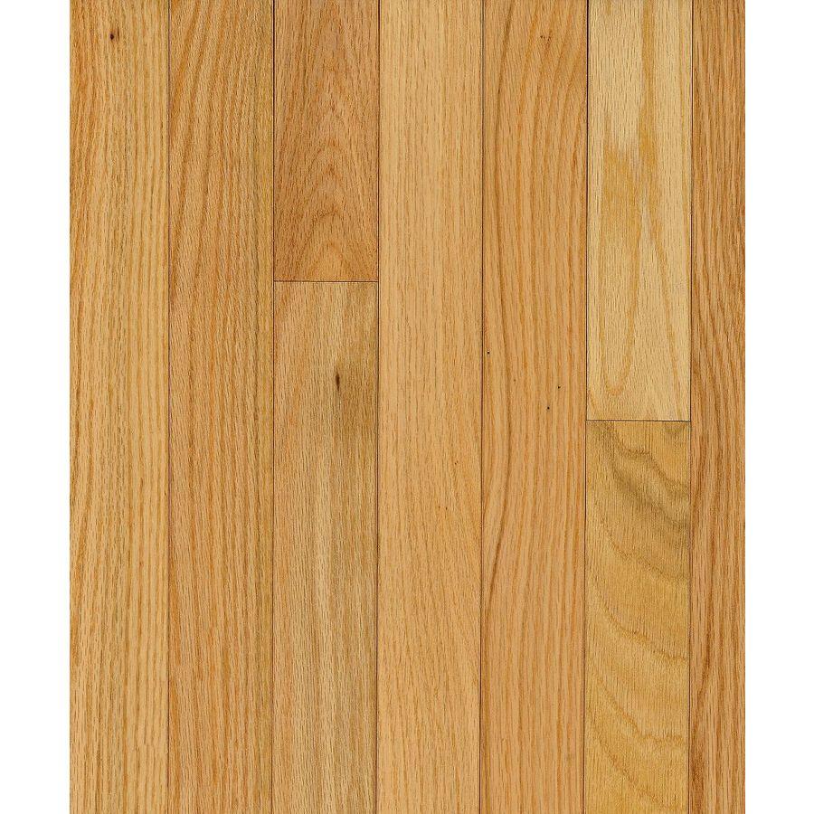 Shop Bruce Barrett Strip 2 25 In W Prefinished Oak Hardwood Flooring Natural At Lowes Com