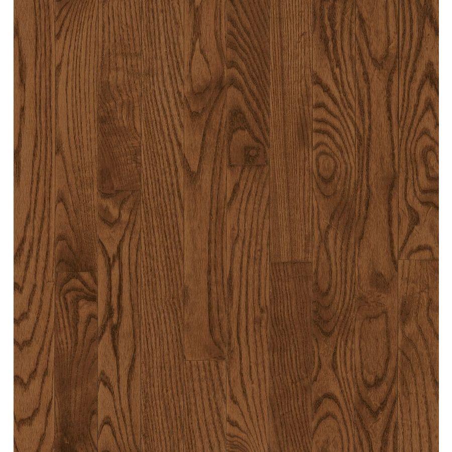 Bruce Barrett Strip 2.25-in W Prefinished Oak Hardwood Flooring (Saddle)