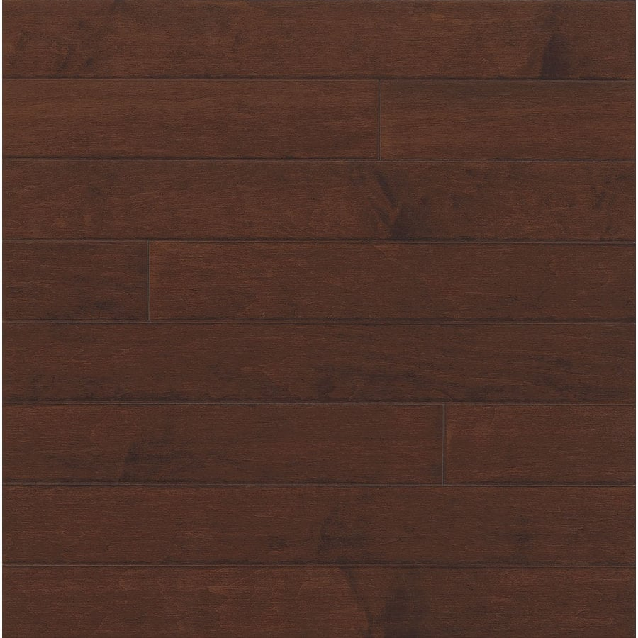 Bruce Locking Smooth Face Cappuccino Maple Hardwood Flooring (22-sq ft)