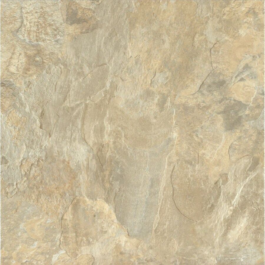 Armstrong Terraza 12-in x 12-in Fieldstone Peel-and-Stick Stone Residential Vinyl Tile