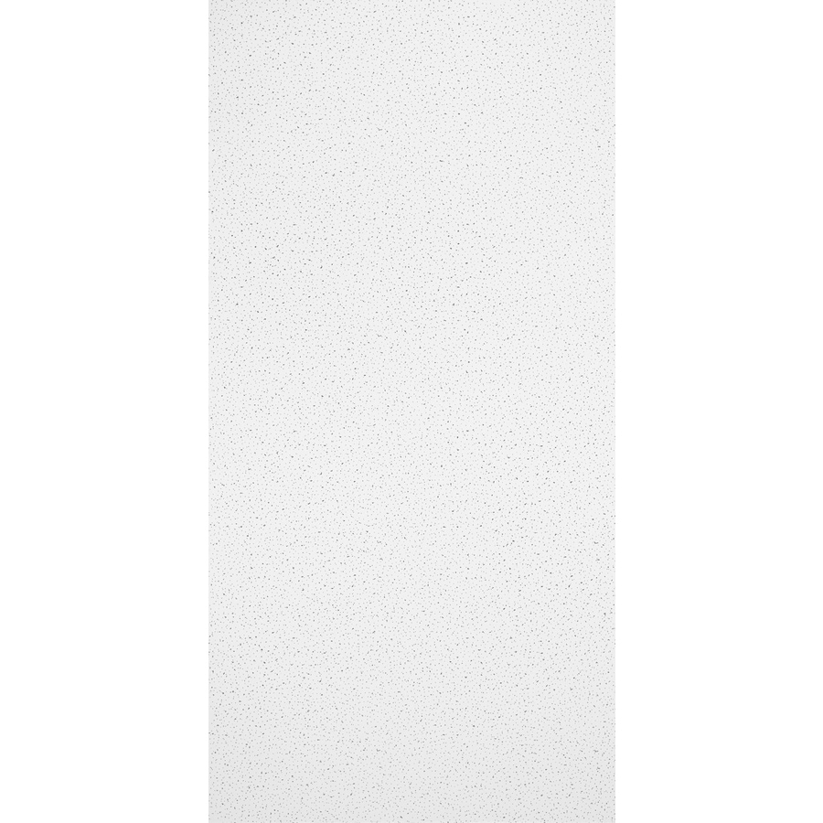 Armstrong Fine Fissured Homestyle 8-Pack White Fissured 15/16-in Drop Acoustic Panel Ceiling Tiles (Common: 48-in x 24-in; Actual: 47.719-in x 23.719-in)