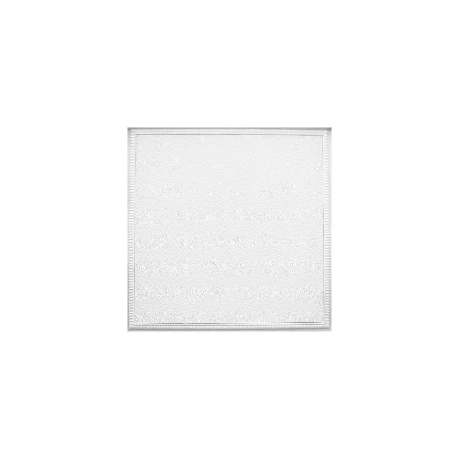 Armstrong Fluted Homestyle 6-Pack White Patterned 15/16-in Drop Acoustic Panel Ceiling Tiles (Common: 24-in x 24-in; Actual: 23.735-in x 23.735-in)