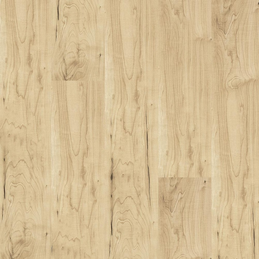 Armstrong Beveled Wood 4-3/4-in W x 50-5/8-in L Amur Maple Natural Laminate Flooring