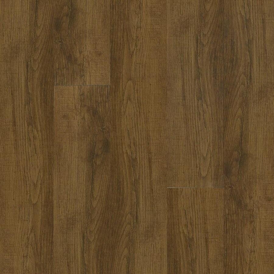 Armstrong Long Plank 7.64-in W x 7.50-ft L Barrel Oak Wood Plank Laminate Flooring