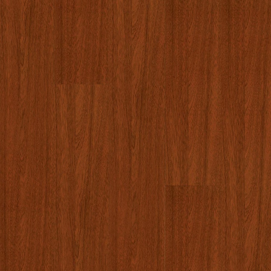 Armstrong 4.92-in W x 3.98-ft L Jatoba High-Gloss Laminate Wood Planks