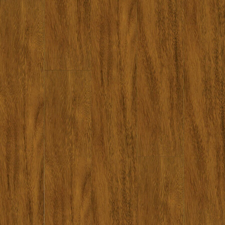 Armstrong 4.92-in W x 3.98-ft L Ironwood High-Gloss Laminate Wood Planks
