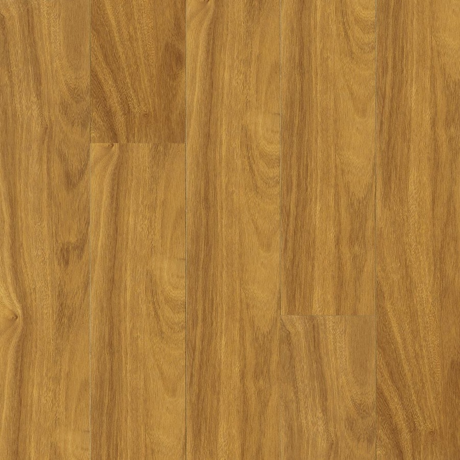 Armstrong 4.92-in W x 3.98-ft L Presidential Oak High-Gloss Laminate Wood Planks