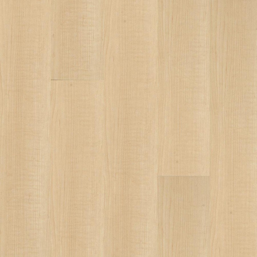 Armstrong 4.92-in W x 3.98-ft L Canadian Maple High-Gloss Laminate Wood Planks