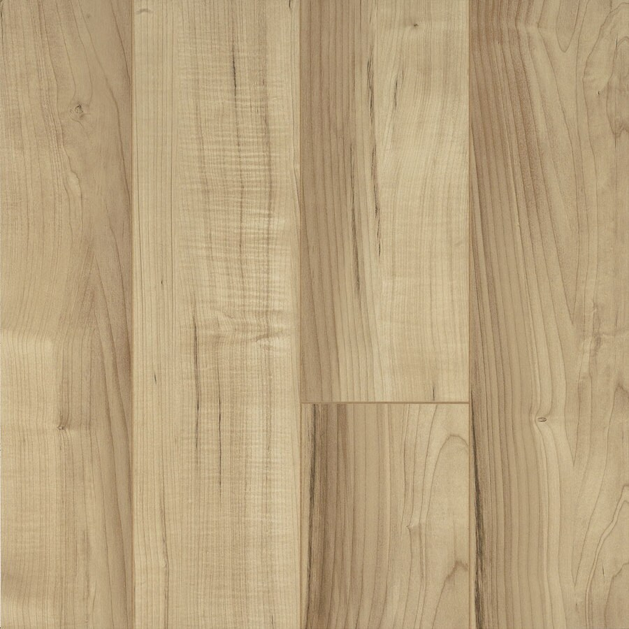 Armstrong Premium 4.92-in W x 3.97-ft L Desert Tan Smooth Commercial Laminate Planks