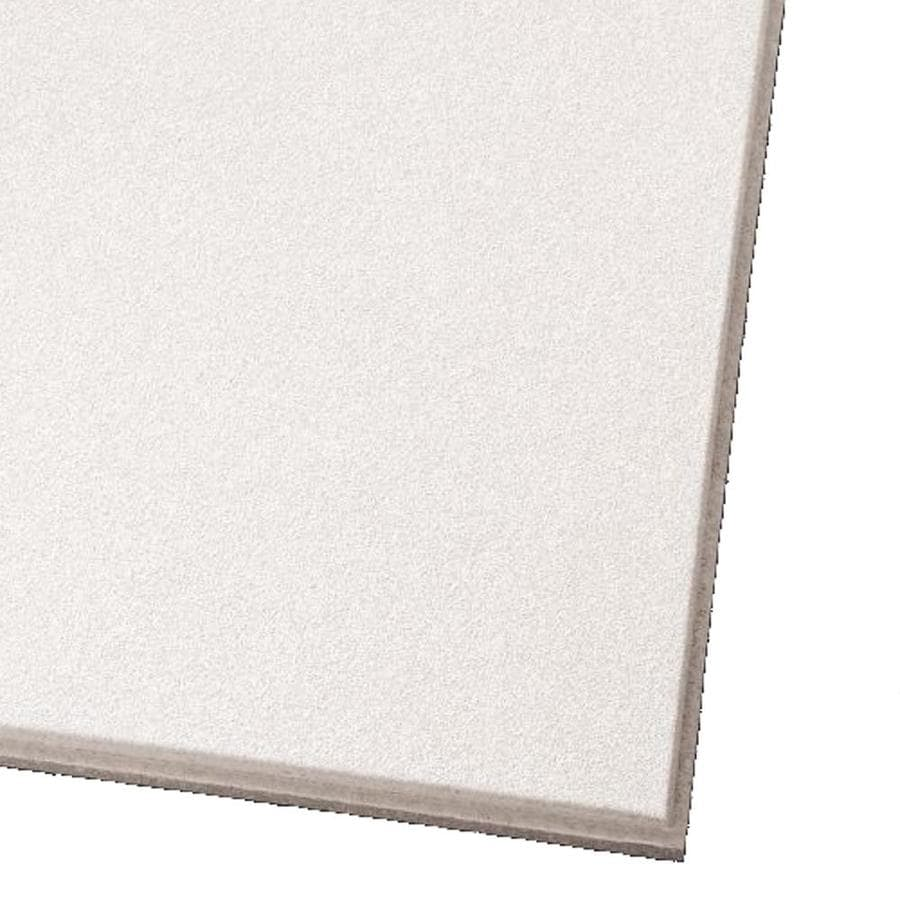 Armstrong Ultima 12-Pack White Smooth 15/16-in Drop Acoustic Panel Ceiling Tiles (Common: 24-in x 24-in; Actual: 23.735-in x 23.735-in)