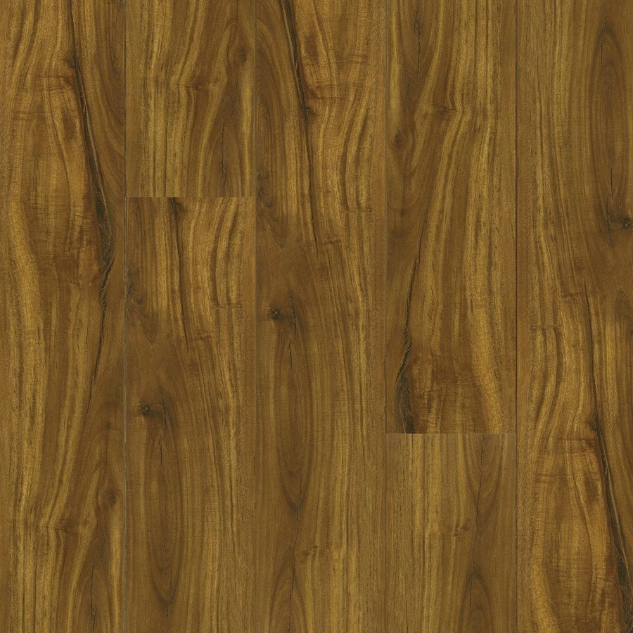 Armstrong 12Mm Specialty 5.6-in W x 1.31-ft L Handscraped Golden Acacia Wood Plank Laminate Flooring