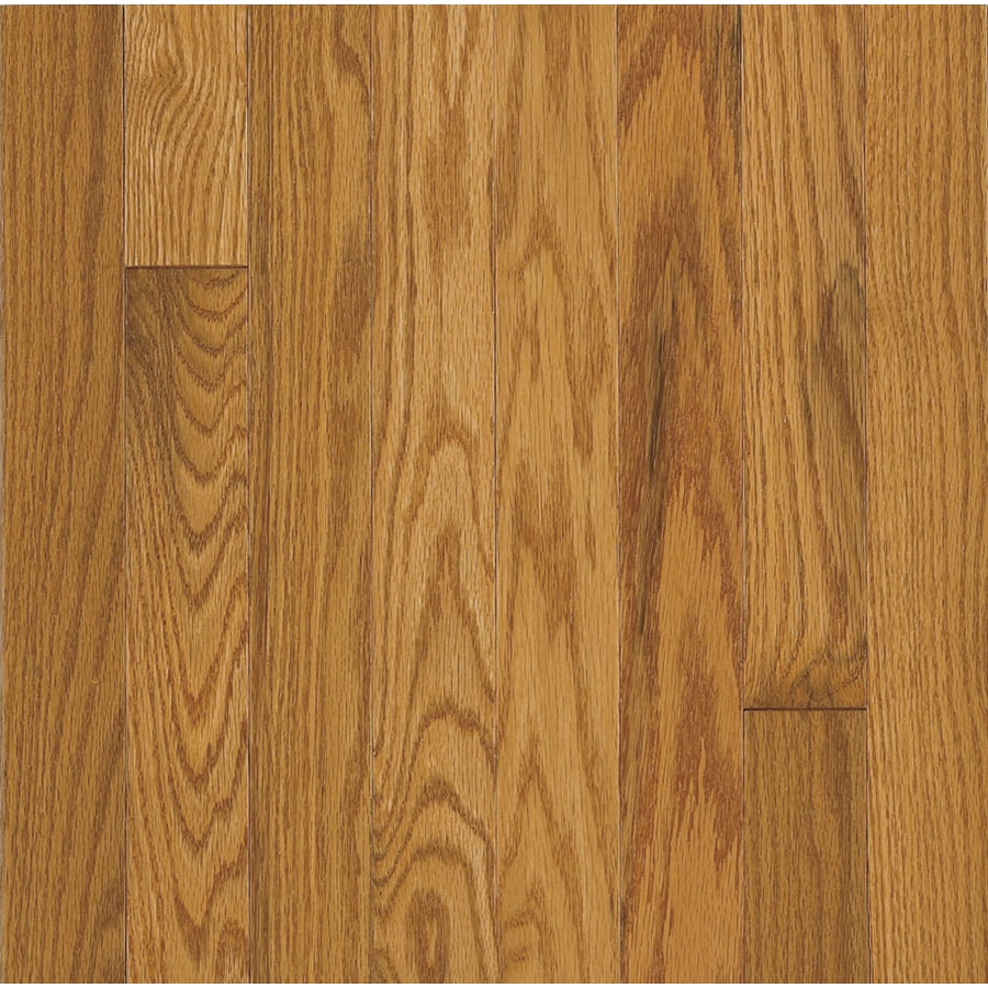 Hartco Somerset Strip 2.25-in W Prefinished Oak Hardwood Flooring (Praline)