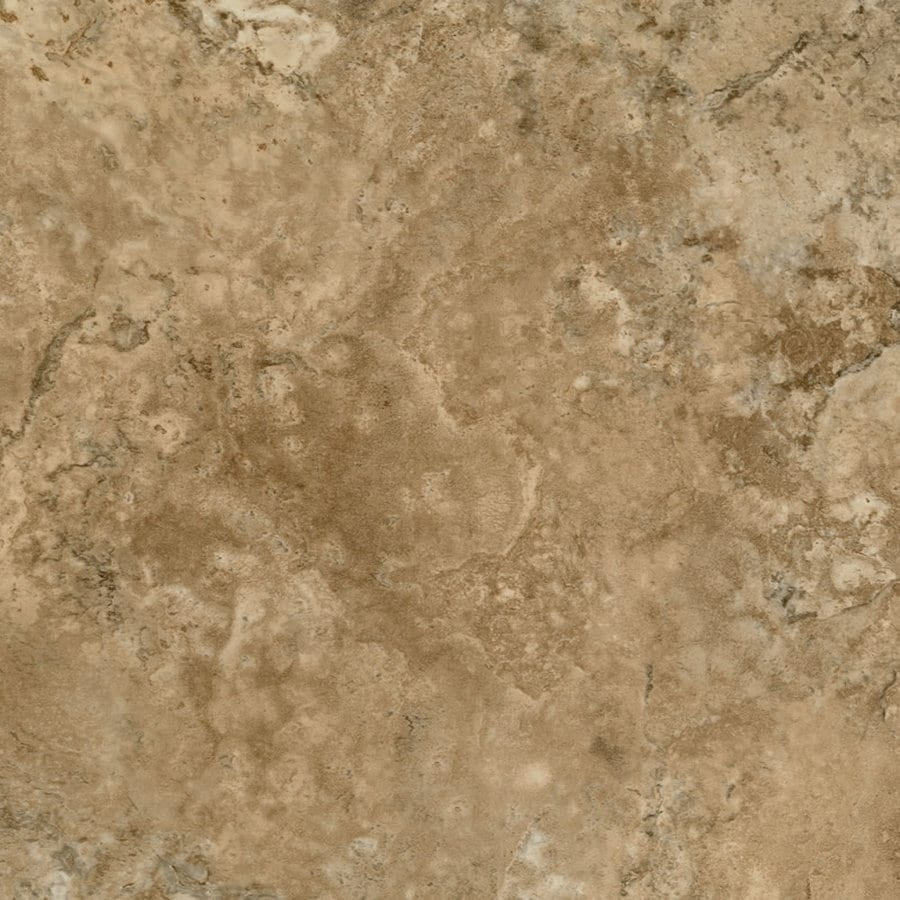 Armstrong Crescendo 12-in x 12-in Groutable Gold Coast Peel-and-Stick Marble Residential Vinyl Tile