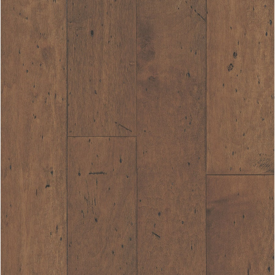 Shop bruce america 39 s best choice 5 in w prefinished maple for Prefinished wood flooring