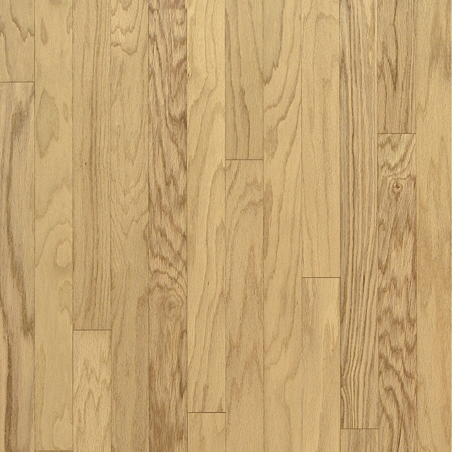 Bruce Locking Hardwood 3-in W Prefinished Oak Locking Hardwood Flooring (Natural)