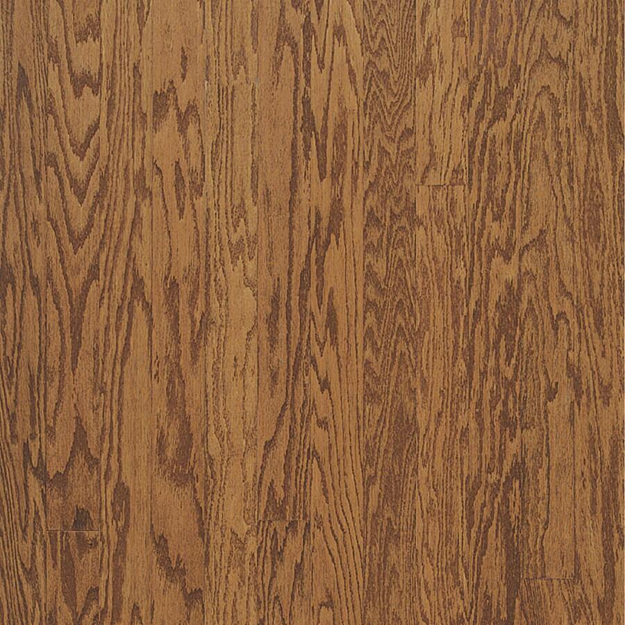 Bruce Locking Hardwood 3-in W Prefinished Oak Locking Hardwood Flooring (Gunstock)