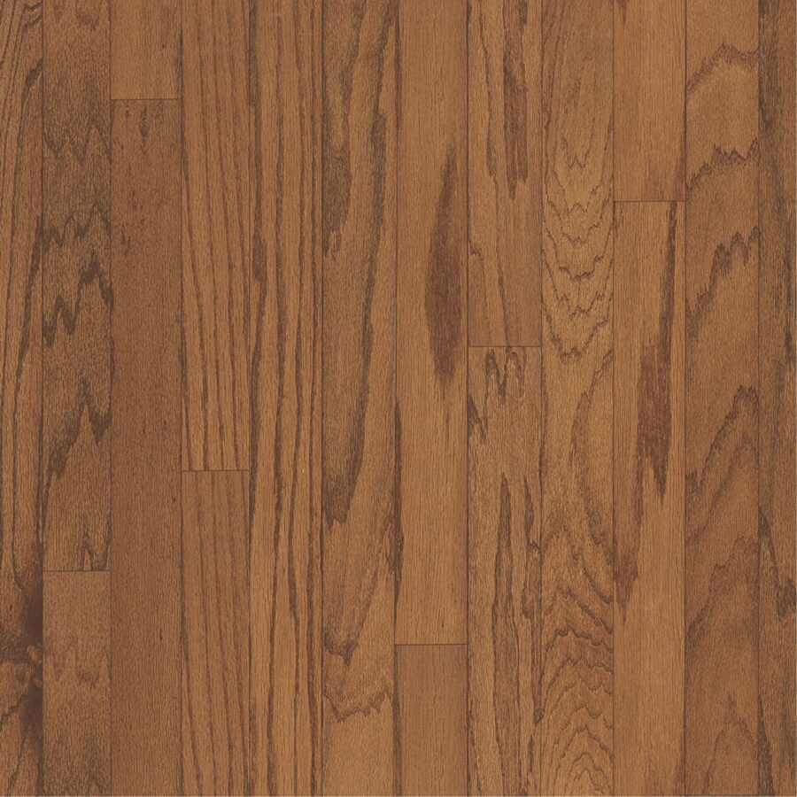 Style Selections Style Selections 3-in W Prefinished Oak Locking Hardwood Flooring (Butterscotch)