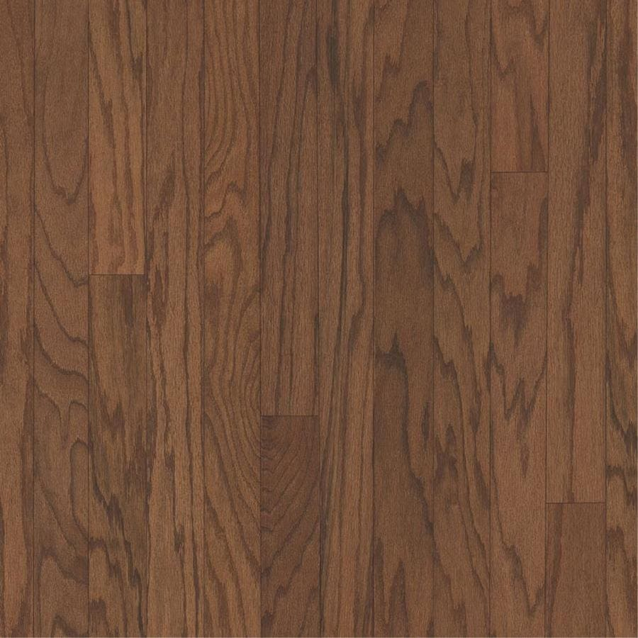 Bruce Oak Hardwood Flooring Sample (Gunstock)