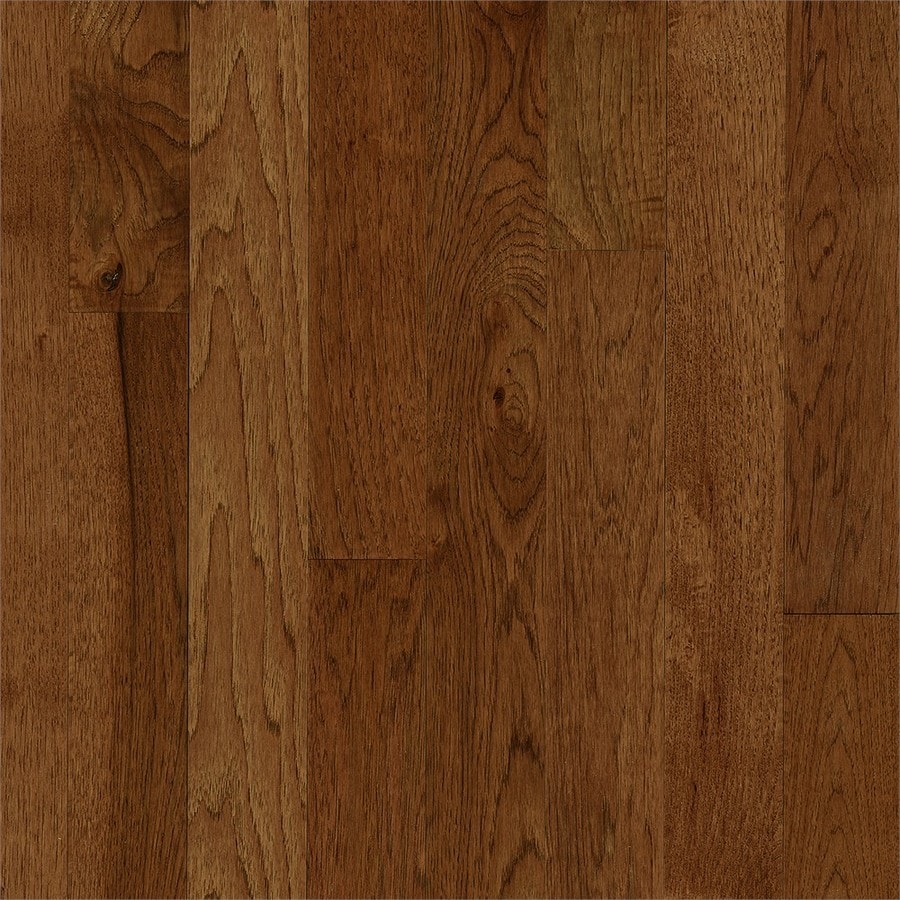 Bruce America's Best Choice 3.25-in W Prefinished Hickory Hardwood Flooring (Oxford Brown)