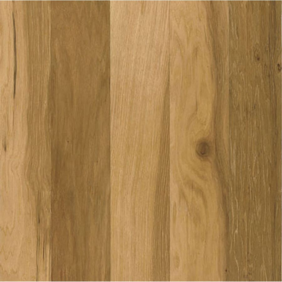 Shop bruce hickory hardwood flooring sample light ginger for Hardwood floors examples