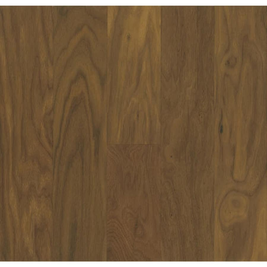 Shop bruce walnut hardwood flooring sample sedona brown for Walnut hardwood flooring