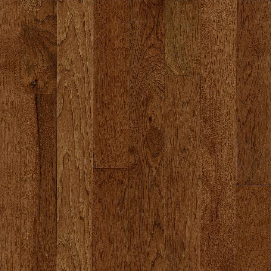 Bruce Hickory Hardwood Flooring Sample (Oxford Brown)