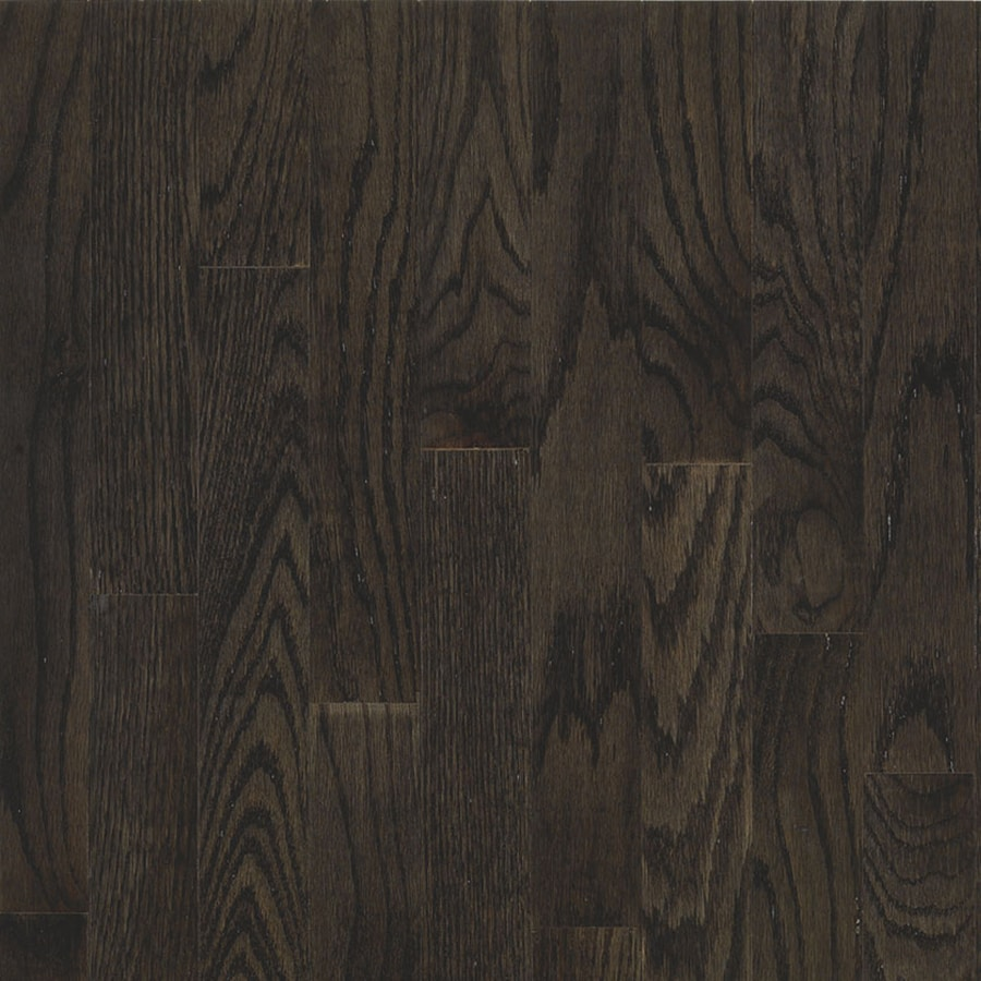 Shop bruce america 39 s best choice 5 in w prefinished oak for Real oak hardwood flooring