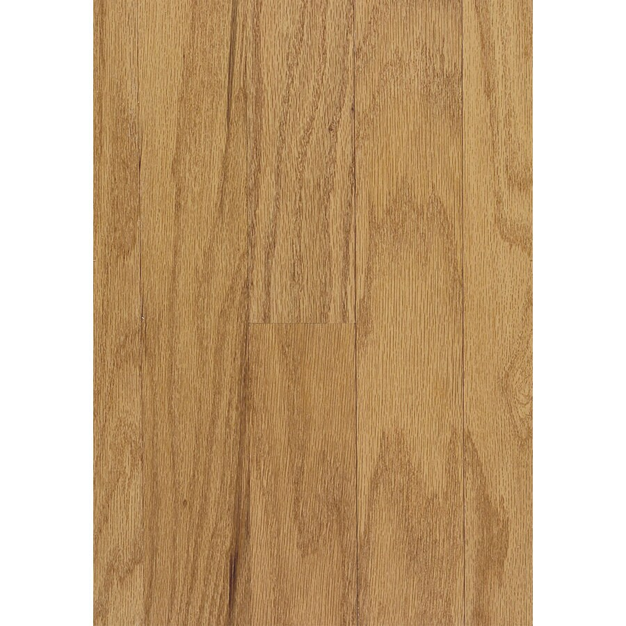 Shop hartco beaumont plank 3 in w prefinished oak for Prefinished solid hardwood flooring