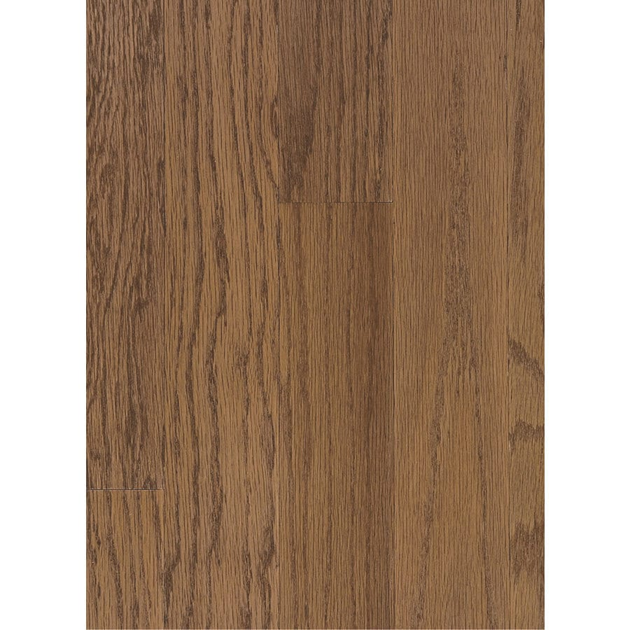 Hartco Beaumont Plank 3-in W Prefinished Oak Engineered Hardwood Flooring (Saddle)