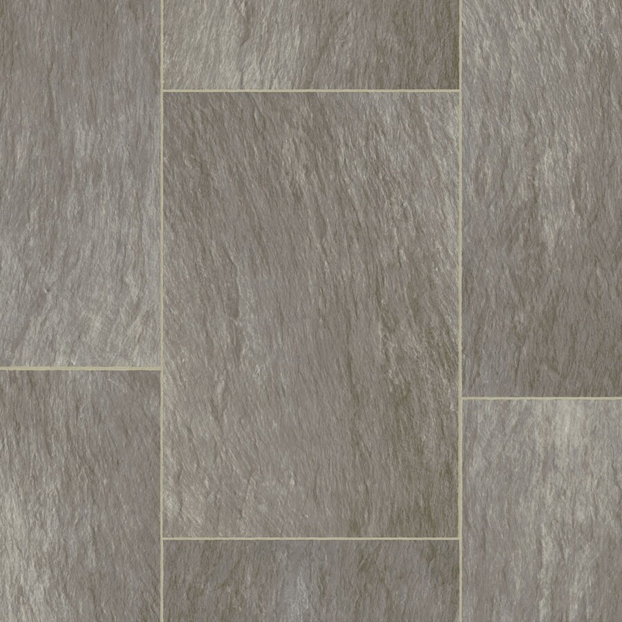 STAINMASTER 12-ft W Thundercloud Stone Low-Gloss Finish Sheet Vinyl