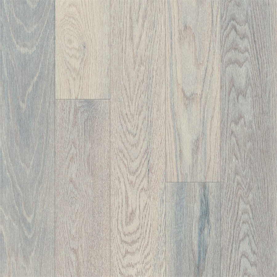 Bruce Oak Hardwood Flooring Sample (Morning Fog)