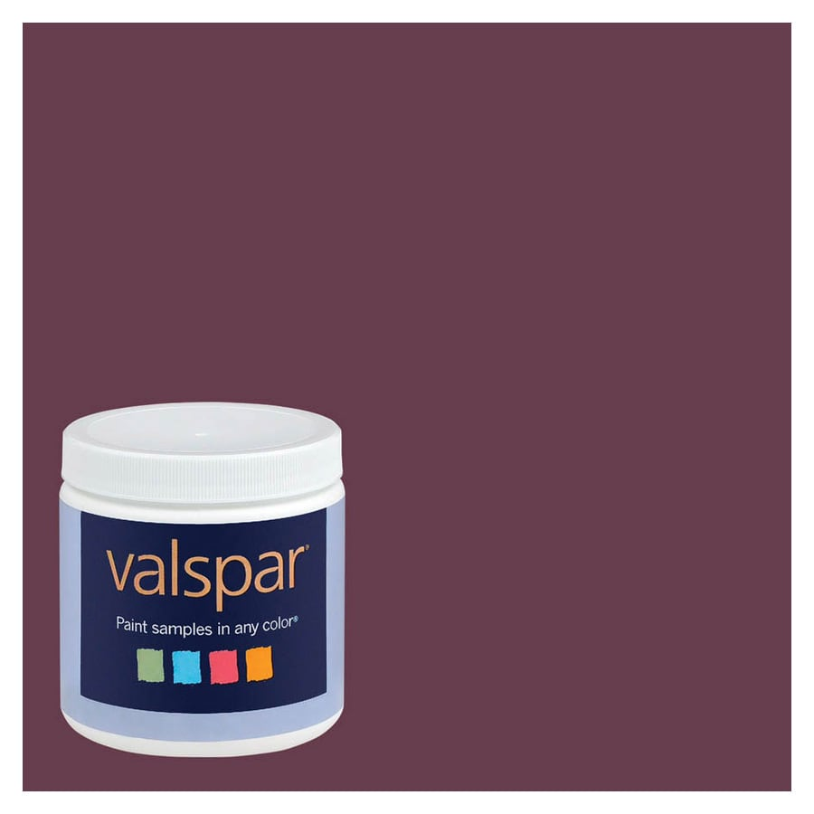 Valspar 8-oz Poetic Purple Interior Satin Paint Sample