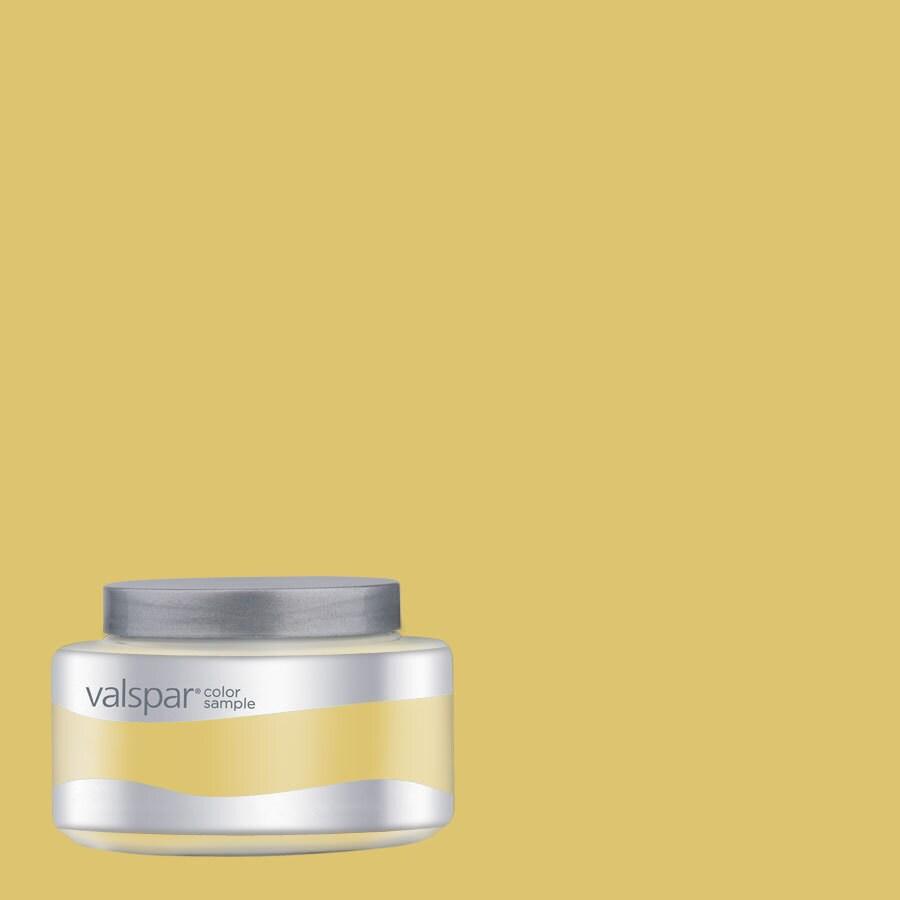 Valspar 8-oz Redstone Dining Room Gold Interior Satin Paint Sample