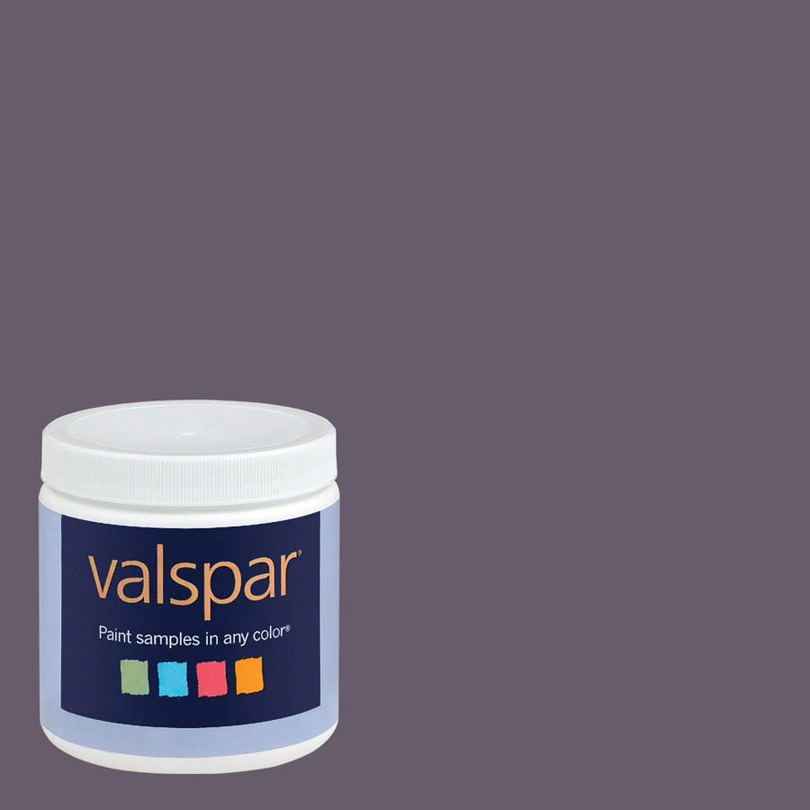 Valspar 8-oz Boysenberry Jam Interior Satin Paint Sample