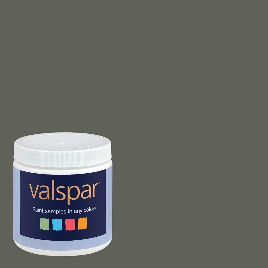 Valspar 8-oz Belmont Green Interior Satin Paint Sample