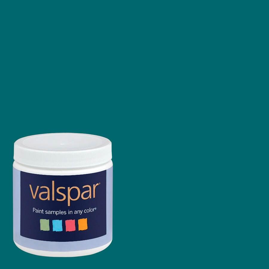Valspar 8 oz. Paint Sample - Gypsy Teal