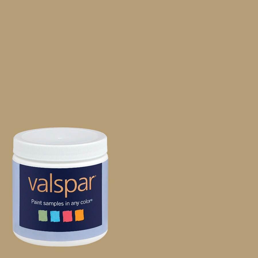 Valspar 8-oz Gold Infusion Interior Satin Paint Sample