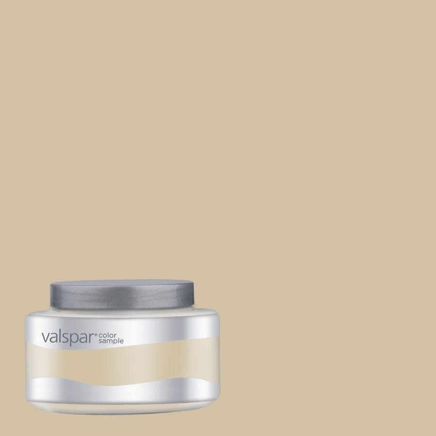 Valspar 8-oz Cliveden Sandstone Interior Satin Paint Sample