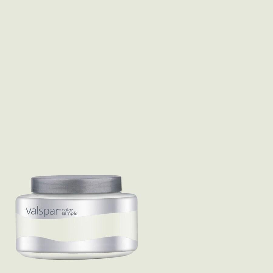 Valspar 8-oz Ultra White Interior Satin Paint Sample