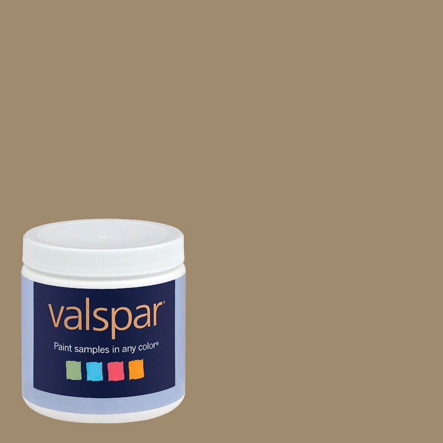 Valspar 8-oz Café Ole Interior Satin Paint Sample